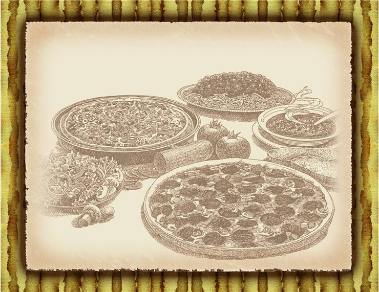 Pizza History - First Pizzas Picture